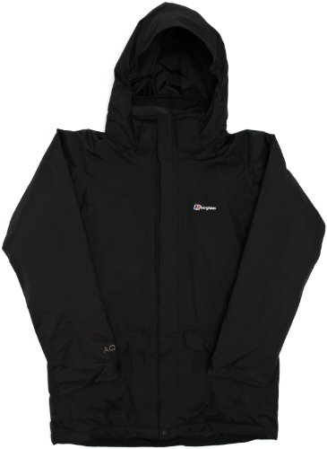Berghaus Coley Insulated Boys Jacket - Black/Black, 9-10 years