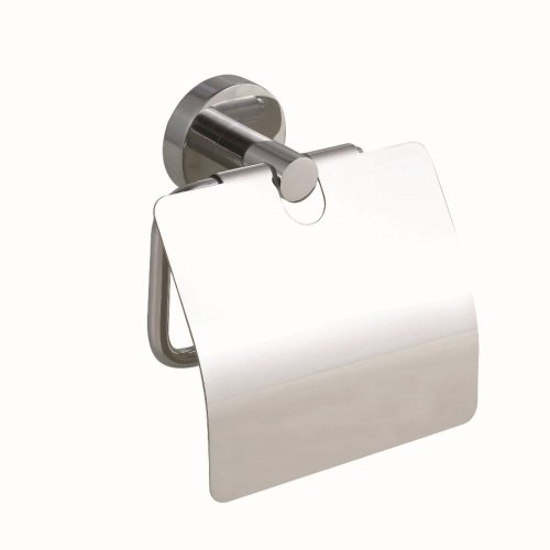 nie wieder bohren so236 smooz wc papierrollenhalter mit deckel verchromt inklusive nie wieder. Black Bedroom Furniture Sets. Home Design Ideas