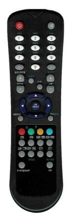 AKURA Original Remote Control RC1055 for TV LCD by Vestel