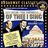 Of Thee I Sing / 1952 O.C.R.