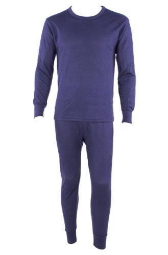 Men 39 S 2pc 100 Cotton Thermal Underwear Set Long Johns Xl