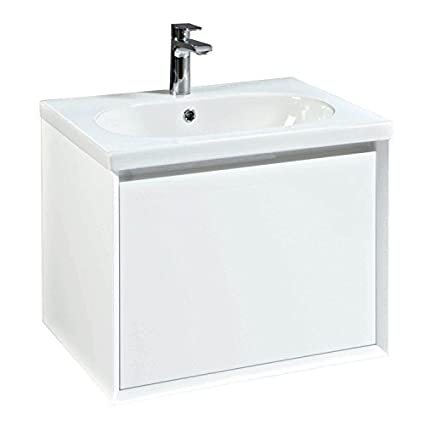 Phoenix Enzo 61 Unit & Ceramic Basin - White FU021