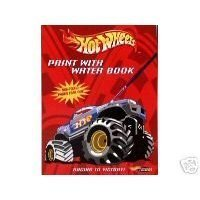 Hot Wheels Paint with Water Book - Racing To Victory - 1