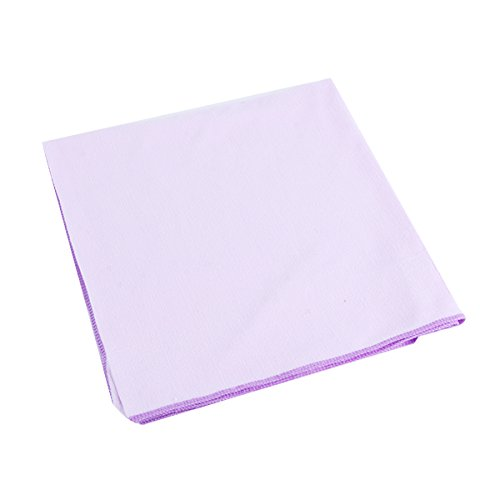 80X140Cm Microfibre Sports Travel Gym Fitness Beach Swim Camping Bath Towel (Light Purple) front-793104