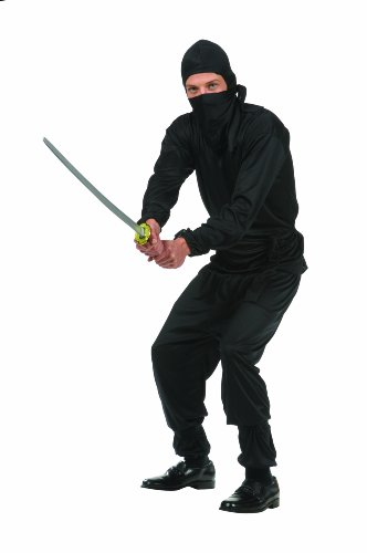 Black Ninja Teen Costume