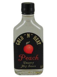 """Gold """" N """" Heat Peach Dessert Hot Sauce 6 Oz"""