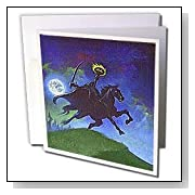 Headless Horseman Greeting Cards