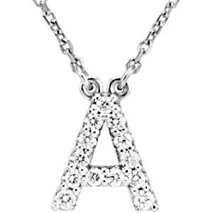 Z Alphabet In Diamond Amazon.com: 14k White Gold Diamond Alphabet Letter A Necklace (1/8 ...