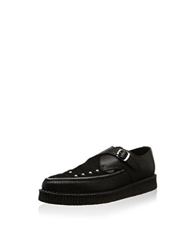 Underground Zapatos Monkstrap Apollo Negro