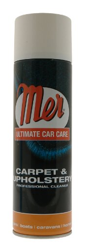 Mer MUC5 500ml Carpet and Upholstery Professional Aerosol Cleaner