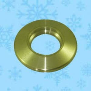 BRASS COLLARS FOR LOOP LOC BRASS ANCHORS - BEAUTY RINGS