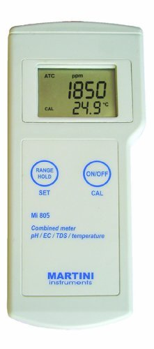 Milwaukee Mi805 Portable pH/EC/TDS/Temperature Meter by Milwaukee