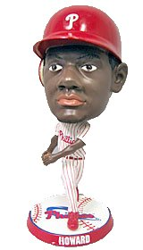 "Ryan Howard Philadelphia Phillies 9.5"" Super Bighead Bobble Head Doll from Forever Collectibles"