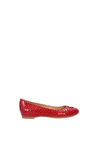 Ballerine Armani Jeans Donna Pelle Rosso A55E7384L Rosso 40EU