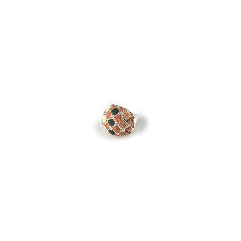 Viva Beads New Harvest Crystal Cocktail Bead Stretch Ring