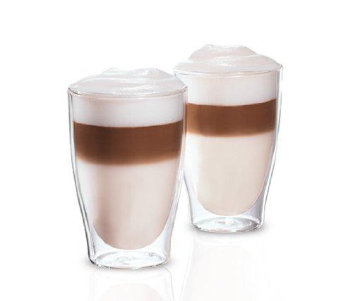 tchibo cafissimo latte macchiato gl ser tassen 2er set doppelwandig thermoglas sp lmaschinengeeignet. Black Bedroom Furniture Sets. Home Design Ideas