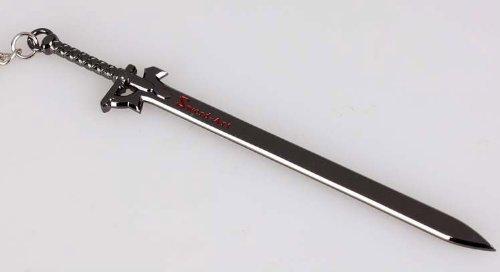 ソードアートオンライン キーホルダー Sword Art Online キーホルダー ソードアートオンライン SAO キリト ブラック剣 キーホルダー【超高級のクールな】Xcoser Hot Sword Art Online SAO Kirito Black Sword Keychain