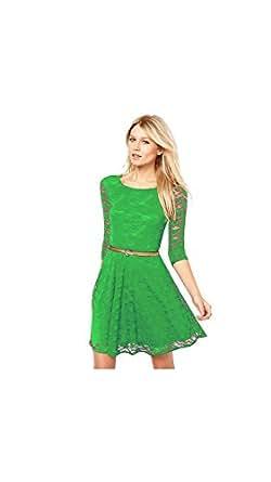 Exclusive Designer Green Dresses Clothing