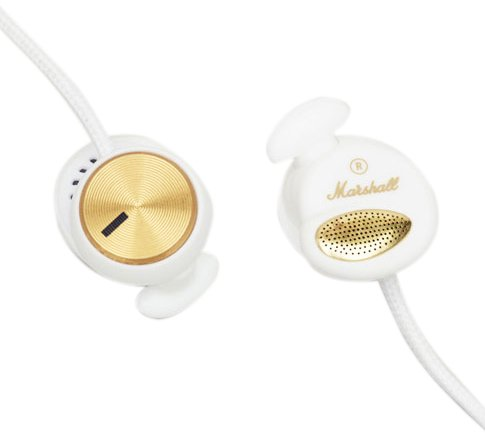 Marshall Minor Earphones 4090481 (Included Ear Pad Replacement Wh / Microphone / Remote Control Function /) (Japan Import)