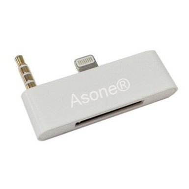 Asone® 3.5mm Jack Lightning 8 Pin to 30 Pin