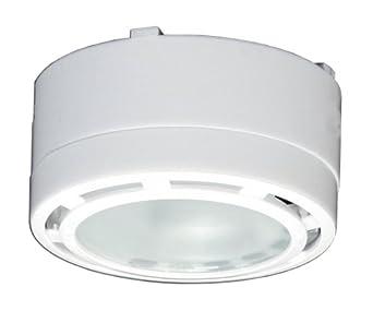 American Lighting LVPX20WH 120-Volt Under Cabinet Xenon Puck Lighting Kit, 1 Pack, White