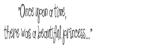 Once upon a time, there was a beautiful princess...wall quote wall decals wall decals quotes
