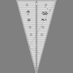 Creative Grids Non-slip 30 Degree Triangle Ruler