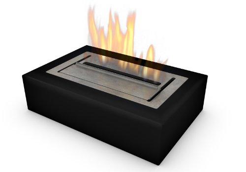 Imagin IMETONBLK - Chimenea de gel/etanol (46.8 x 32.8 x 16.8 cm), color negro