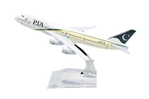 tang-dynastytm-1400-16cm-boeing-b747-400-pia-metal-airplane-model-plane-toy-plane-model
