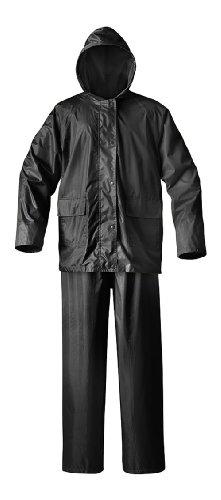 Raider Simplex Rainsuit (Black, X-Large)
