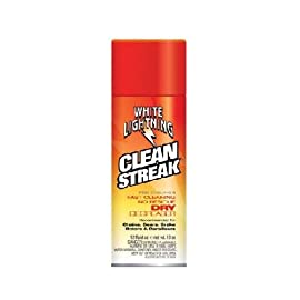 White Lightning Clean Streak Dry Bicycle Degreaser - 12. oz/350ml Aerosol - C50120102