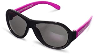 Babiators Originals Sneak Attack - Gafas de sol para niñas, color rosa y negro marca Babiators - BebeHogar.com