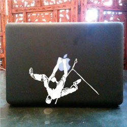 Rock Mountain Climbing Macbook Pro Skin Vinyl