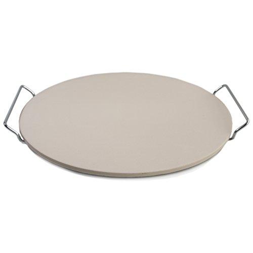 Bialetti Taste of Italy Ceramic Round Pizza Stone, 14.75 Inch (Bialetti Stoneware compare prices)