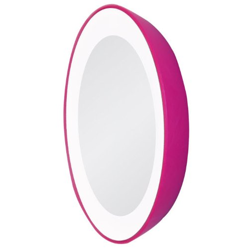 Zadro Led Single Lighted Next-Generation Magnification Spot Travel Mirror front-678631