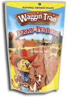 Waggin Train Chicken Jerky Tenders 22 Oz. (Pack of 24 Bags = 33 Lbs) Dog Treats
