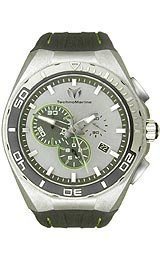 TechnoMarine Cruise Steel Evolution Silver-Tone Dial Men's Watch #112008