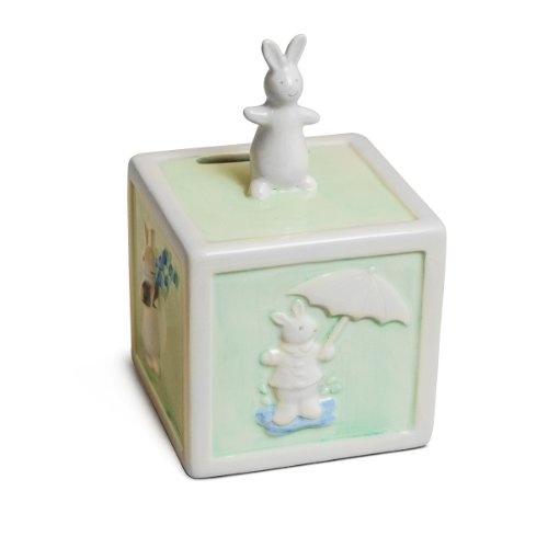 Pat the Bunny Ceramic Bank by Russ Berrie - 1