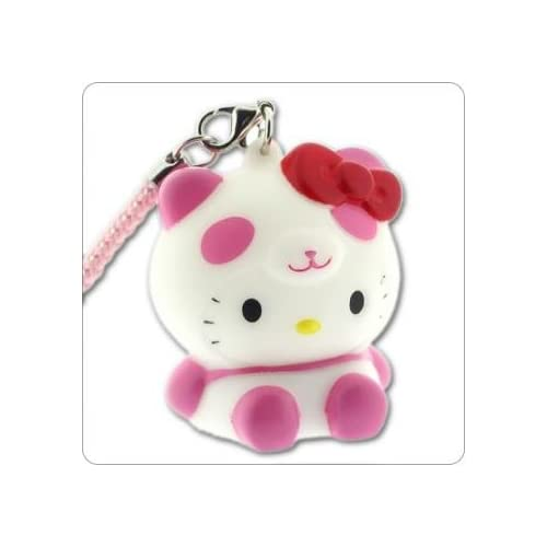Sanrio Hello Kitty Glowing Light Charm (Panda/Pink)