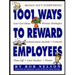 img - for 1001 Ways to Reward Employees 1994 publication. book / textbook / text book