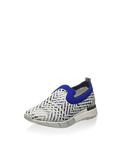 Barracuda Slip-On Blanco / Azul
