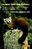 img - for Mammal Community Dynamics: Management and Conservation in the Coniferous Forests of Western North America book / textbook / text book