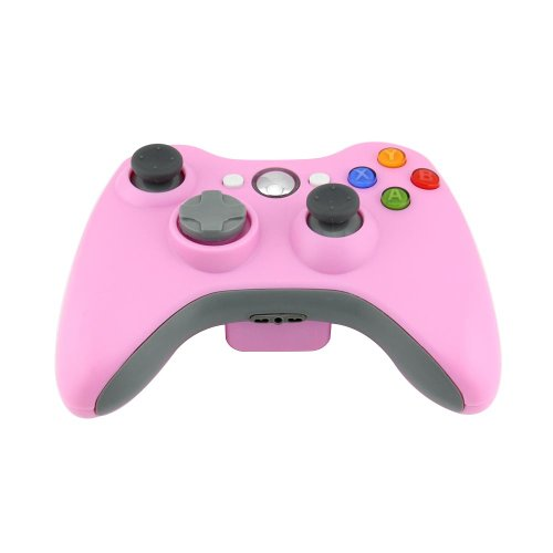 Eastvita Supersaving360 New Wireless Remote Pad Joypad Game Controller For Microsoft Xbox 360 Pc Windows 7 Xp Pink