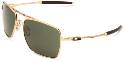 Oakley Mens Deviation OO4061-02 Square Sunglasses,Polished ...