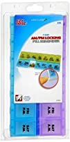 Ezy-Dose Ezy-Dose 7-Day AmPm Locking Pill Reminder 2Xl