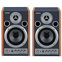 Cakewalk MA-15D Digital Stereo Micro Monitors - Wood Grain