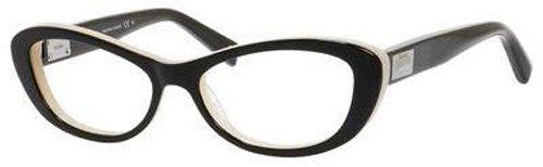 Max MaraMAX MARA Eyeglasses 1172 0552 Black Nude 52MM