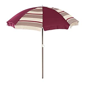 Step2 60 inch Stripped Umbrella - Maroon from Step2
