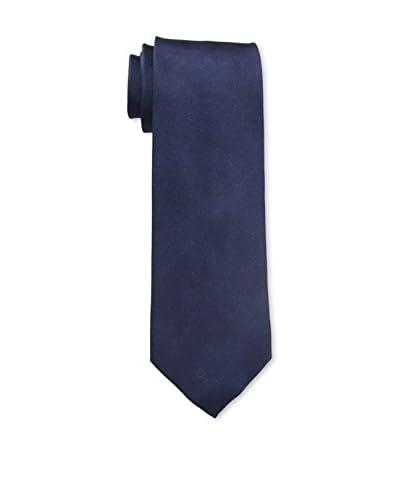 J. McLaughlin Men's Plainweave Tie, Riding Boots Navy