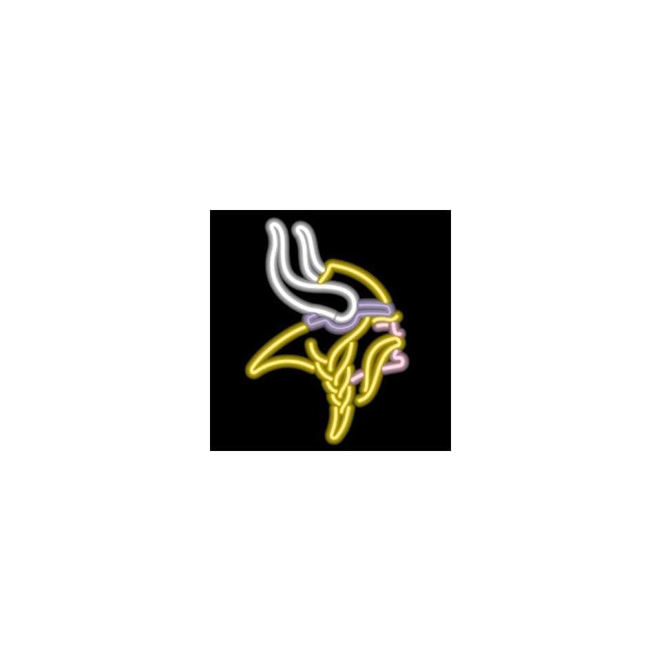 28f1d71523a NFL Minnesota Vikings FootBall Real Glass Tube Neon Light Sign 32